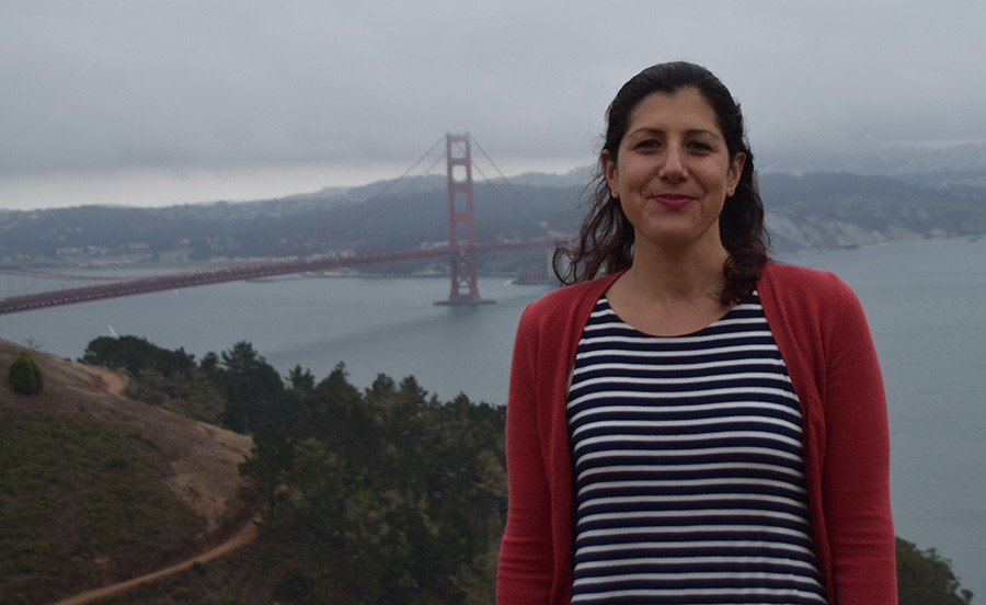 An expat living in San Francisco