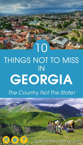 #Georgia is an incredible country and a great travel destination. Why? Check out these 10 things you should see and do in Georgia and you will know why Georgia is worth visiting! #traveltips #travelguide #traveldestination