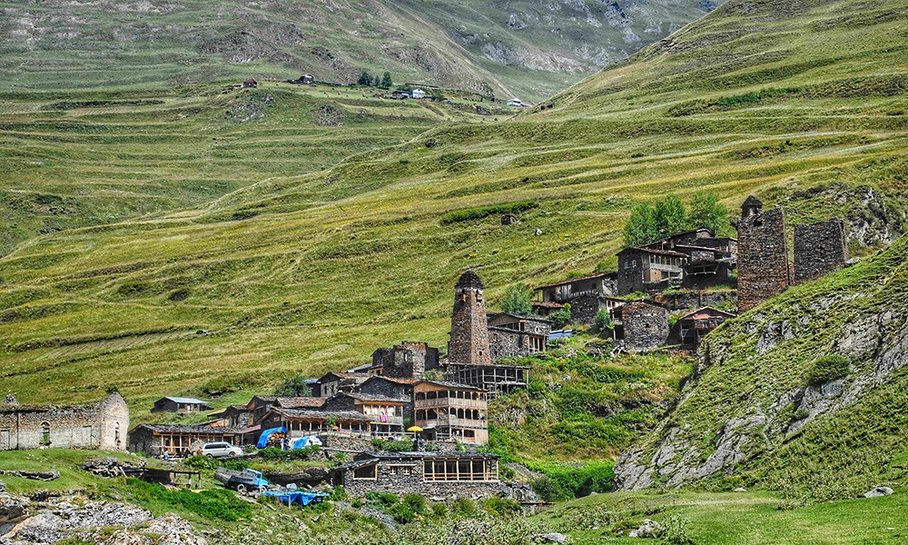 Things not to miss when visiting Georgia: Tusheti