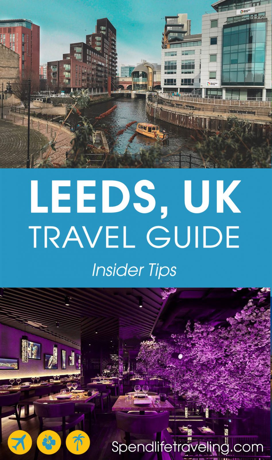 Are you planning a short trip to #Leeds? Check out what to see & do, where to eat & drink and where to stay in this British city. #citybreak #UK #England #visitEngland #travelEngland