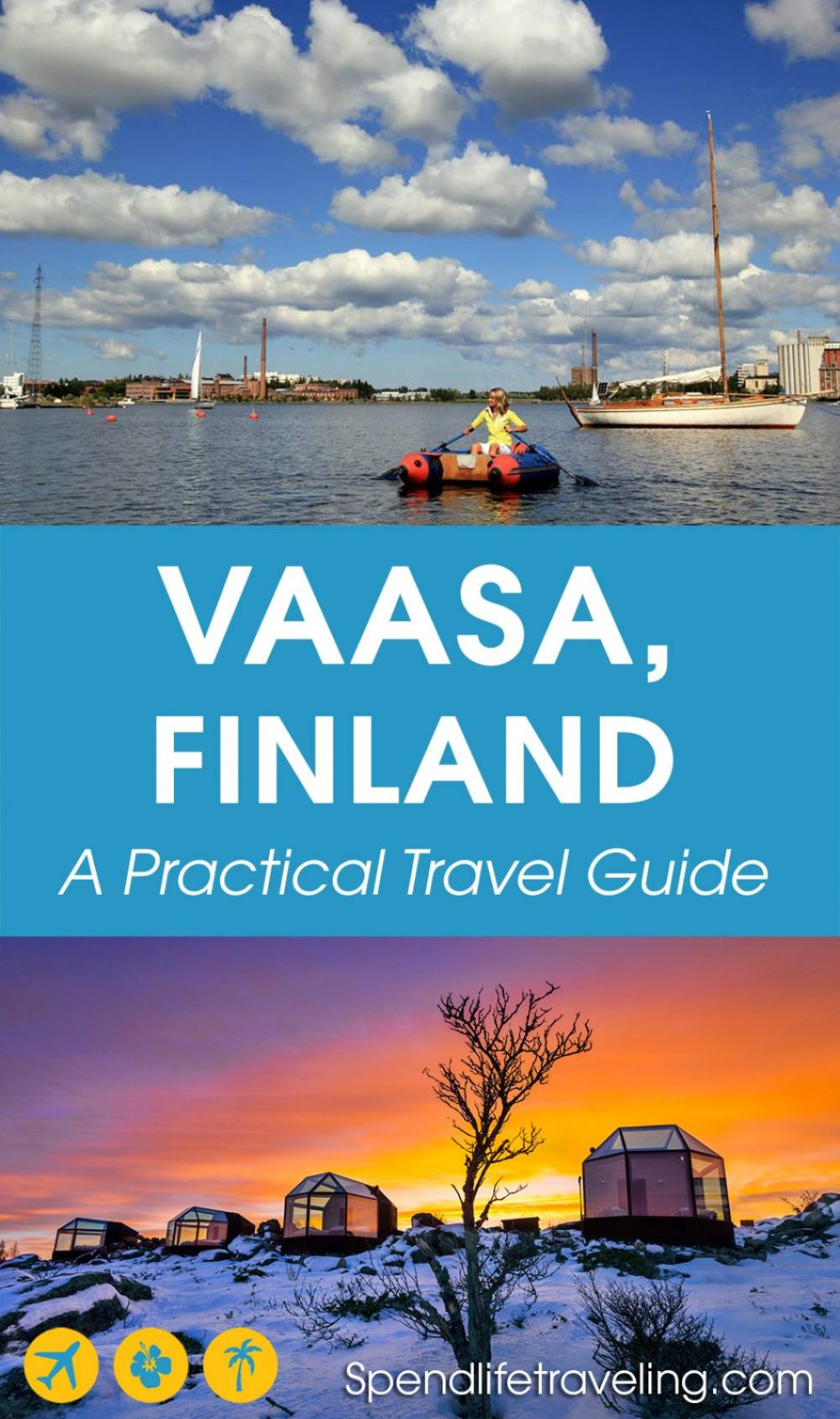 #Vaasa is a cute city on the west coast of #Finland. Check out what to do, where to eat, where to stay and what to explore around Vaasa. #travelguide #visitFinland #Vasa