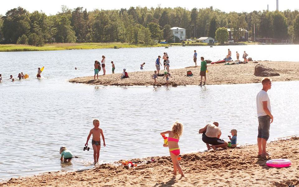 What to do in Vaasa: check out the beaches
