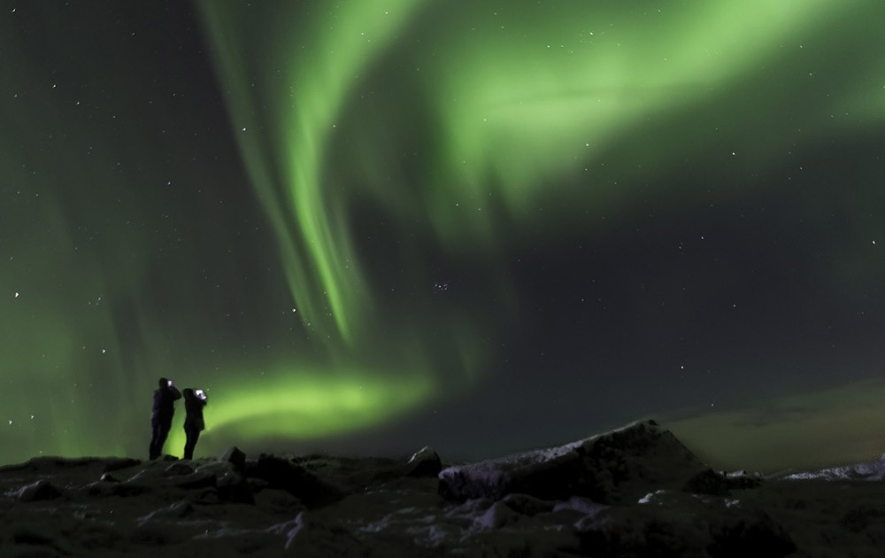 Seeing the northern lights in Iceland on a budget