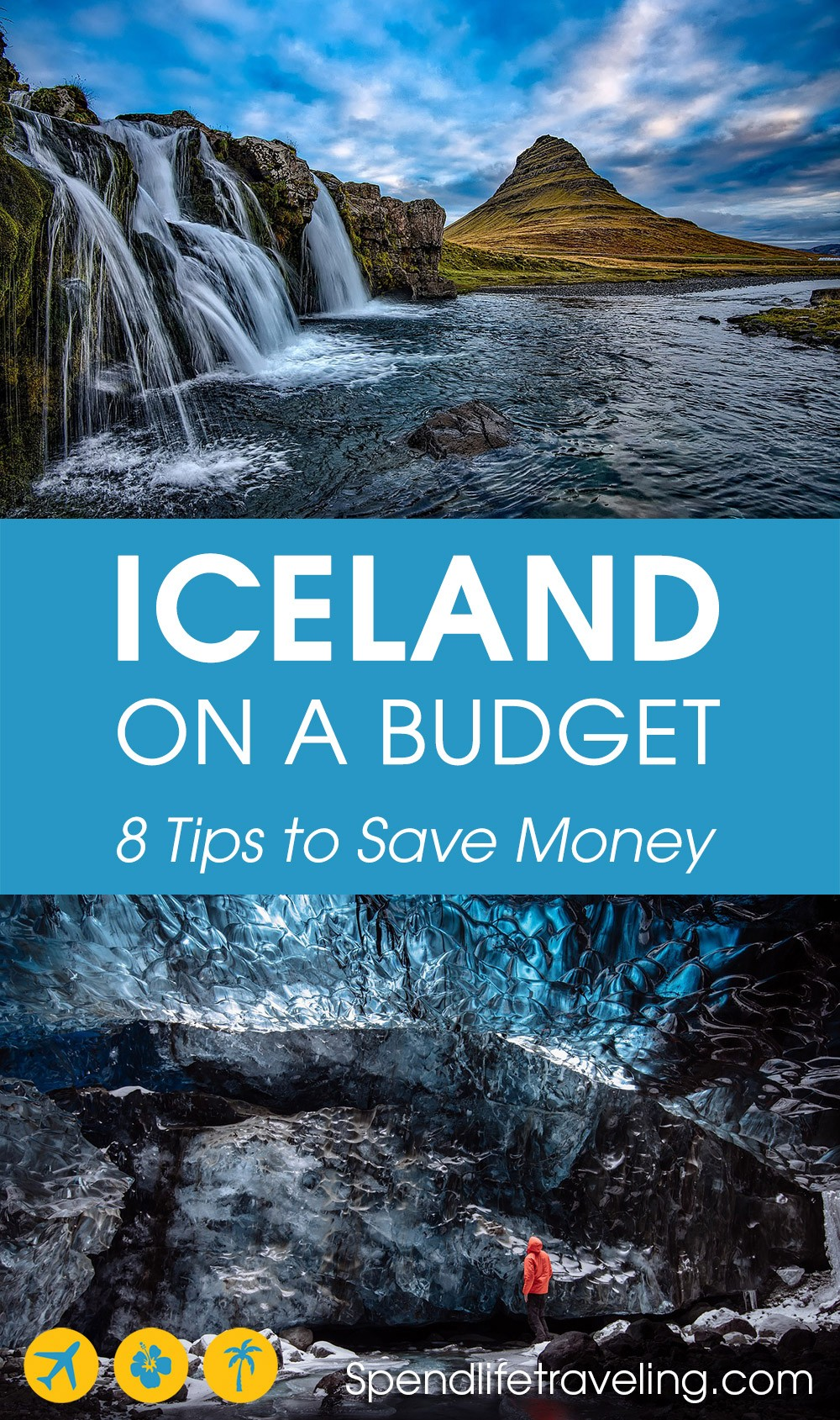 There are several ways to save money traveling around #Iceland, to make your trip a lot more affordable without missing out on anything. Check out these 8 practical tips. #traveltips #budgettravel #cheaptravel #northernlights #travelIceland