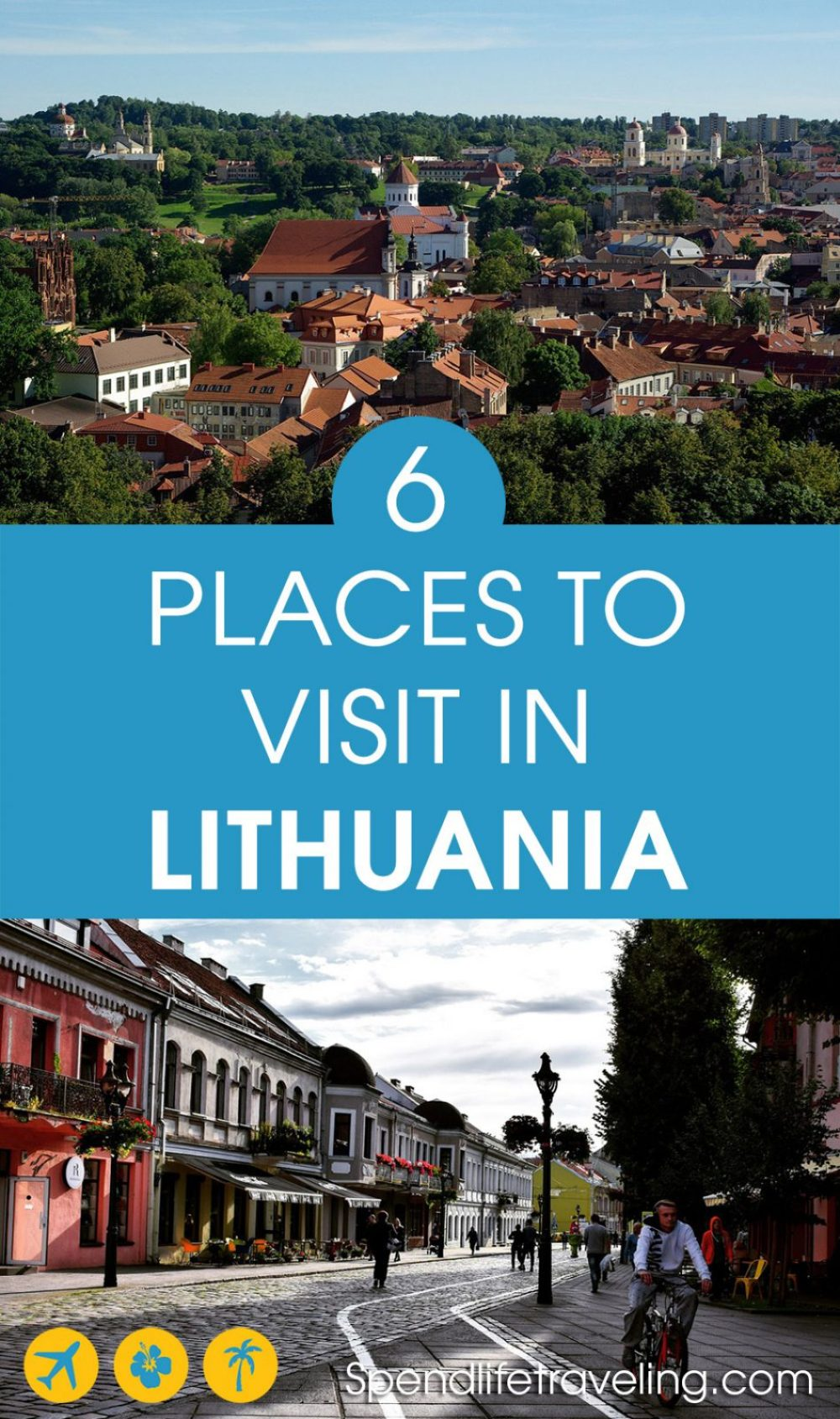 Are you planning a first trip to #Lithuania? Check out these 6 beautiful places not to miss. #traveltips #travelguide #balkans #vilnius #cheapcountries #cheaptravel