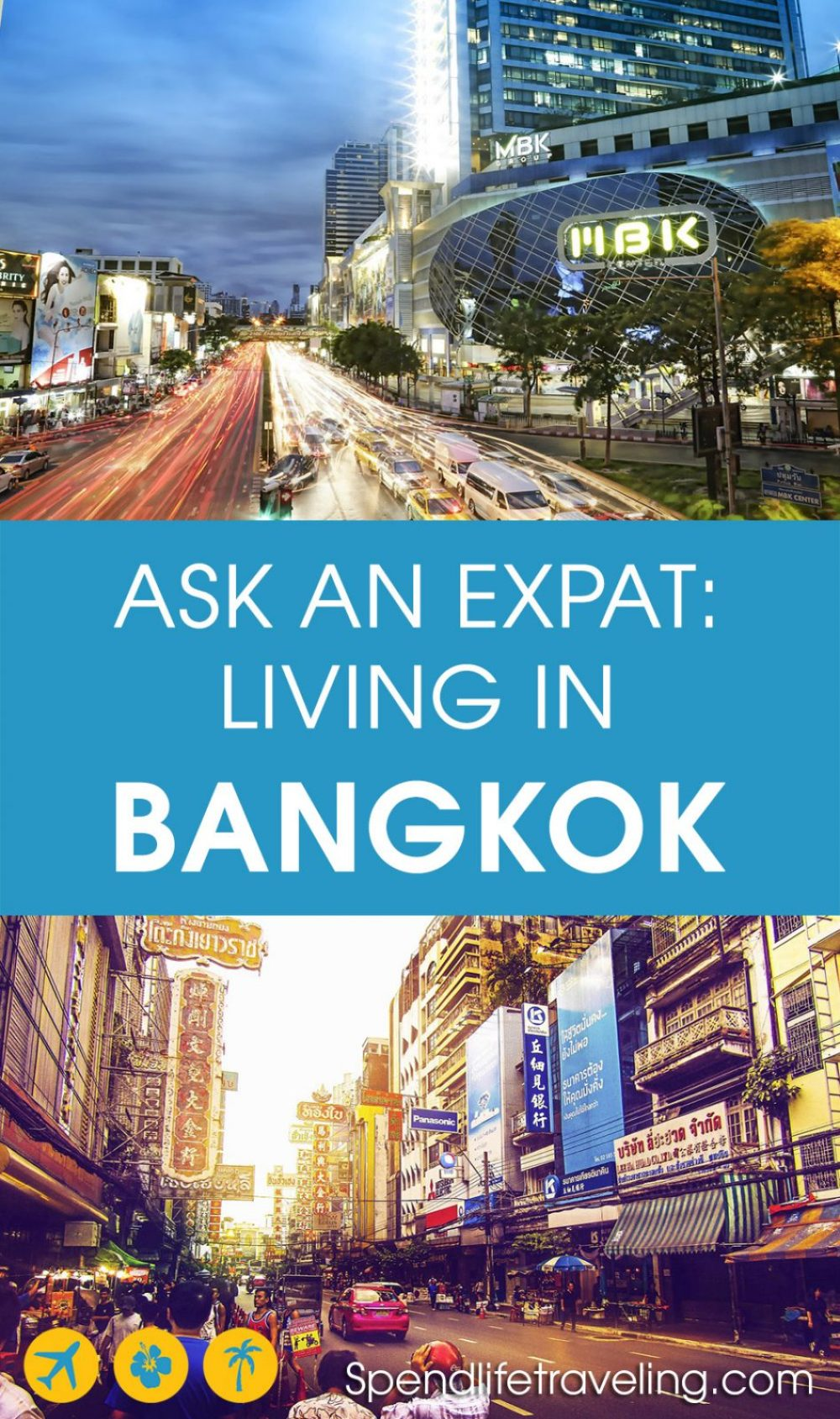 Are you thinking about moving to #Bangkok? Or do you just want to know more about what Bangkok is really like? Check out this interview with an #expat about moving to and living in Bangkok. #expatlife