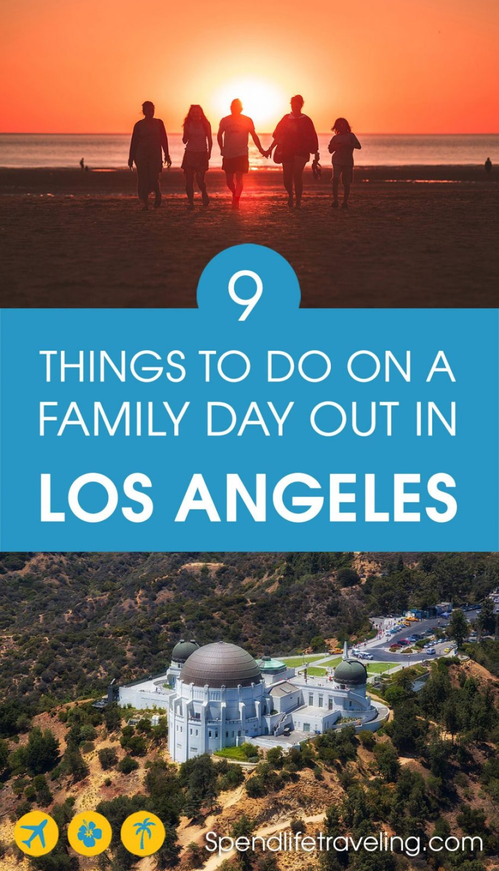 Los Angeles is a city with a lot going on. This is a practical list of fun and affordable things to do in #LA with the family. #LosAngeles #familytravel #visitLosAngeles #visitCalifornia