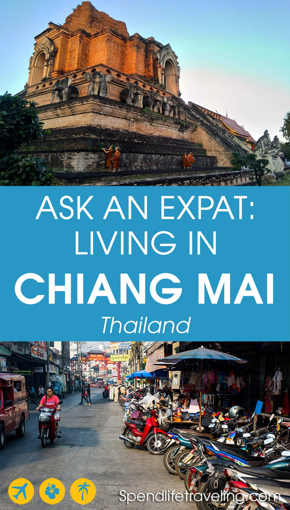 Interview about moving to and living in Chiang Mai as an expat. #ChiangMai #movingtoThailand #expatlife #moveabroad #lifeabroad