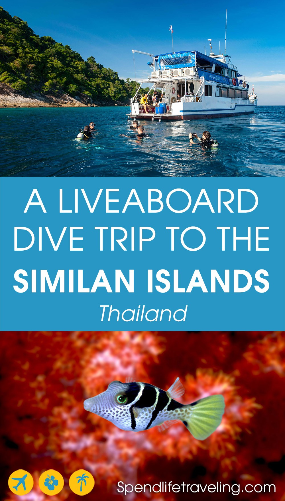 Why should you go on a liveaboard diving trip to the Similan Islands? #scubadiving #similanislands #liveaboard #bestdiving