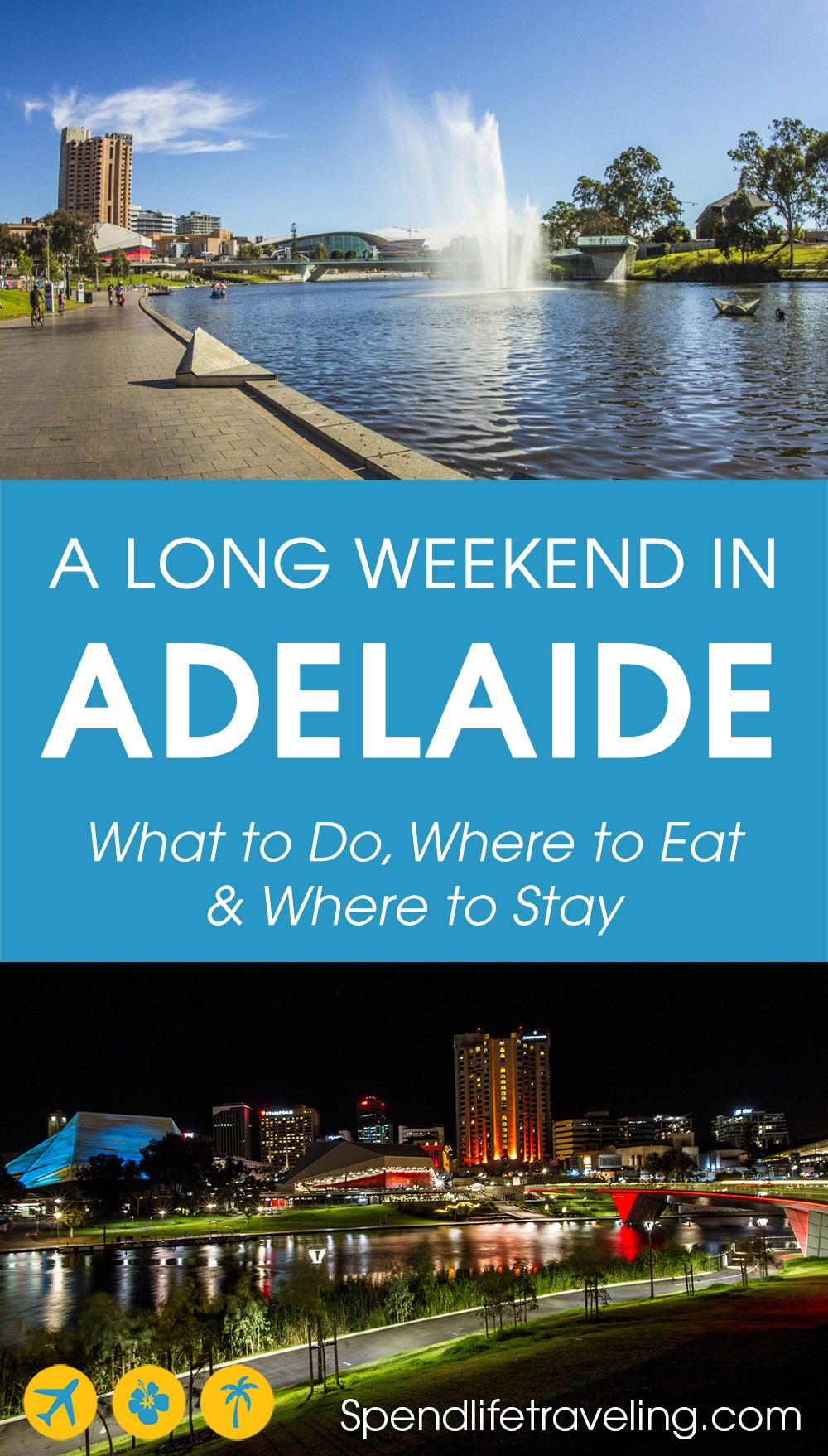 A detailed 3-day itinerary for the perfect long weekend in #Adelaide, Australia - insider tips. #travelguide #citybreak #SouthAustralia