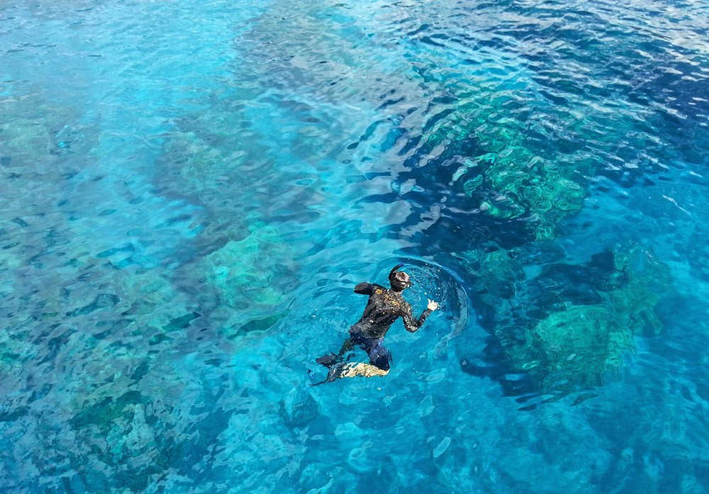 Palawan best snorkeling spots - Black Island (Malajon Island)