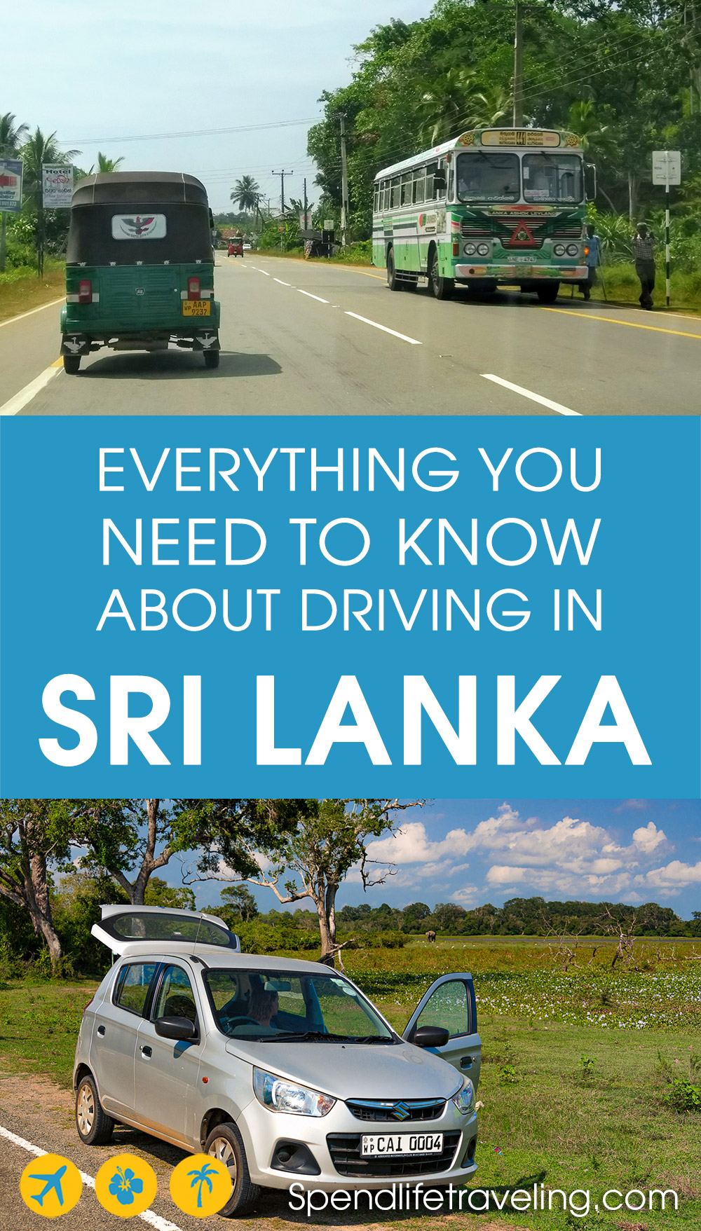 Are you thinking about renting a car and driving in Sri Lanka? This is everything you need to know! #SriLanka #drivingabroad #SriLankaroadtrip #travelSriLanka