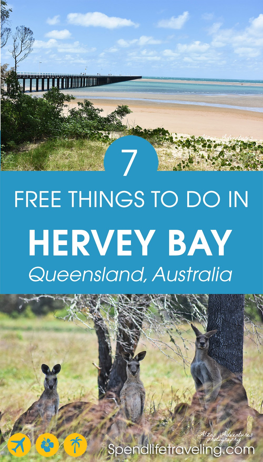 Traveling on a budget? These are some great free things to do in Hervey Bay, Queensland, Australia. #HerveyBay #visitQueensland #travelQueensland
