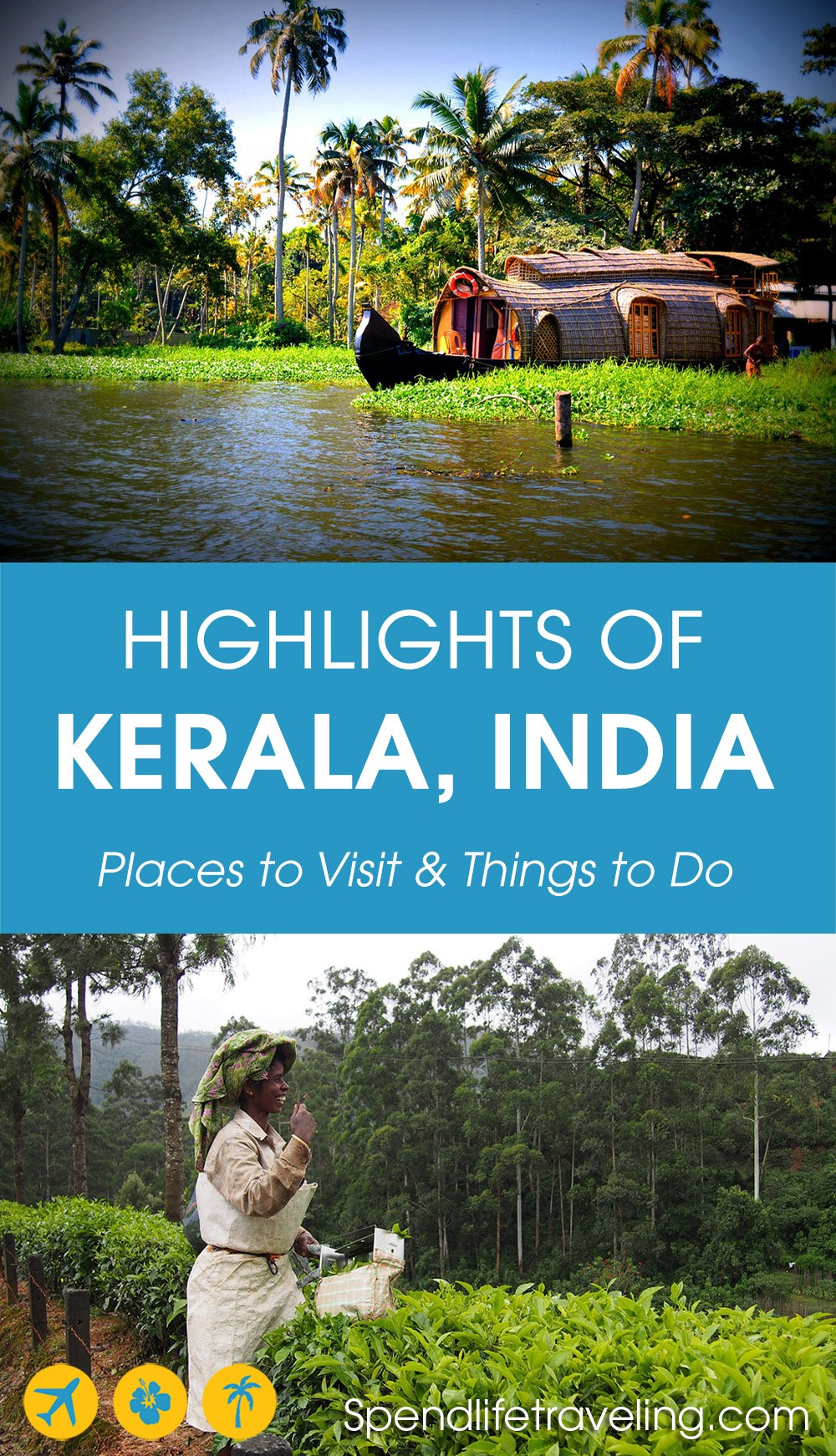 Where to go and what to do when visiting #Kerala? These are the things not to miss! #visitKerala #India #travelIndia