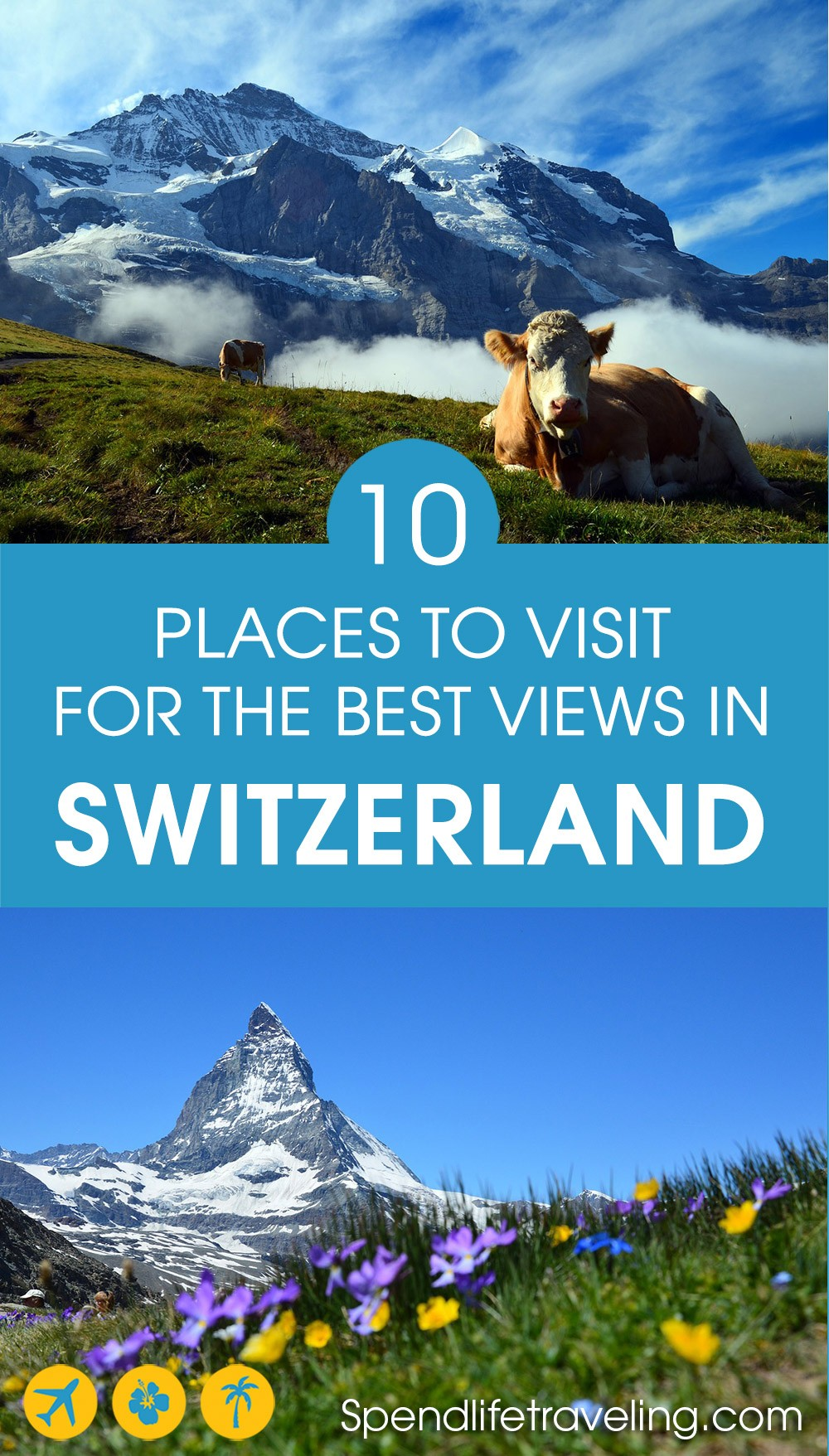 Where to go in #Switzerland for some of the most stunning views. If you love the outdoors and incredible views, this list is for you! From hiking tips to gondola rides. #hiking #adventuretravel #photographytravel