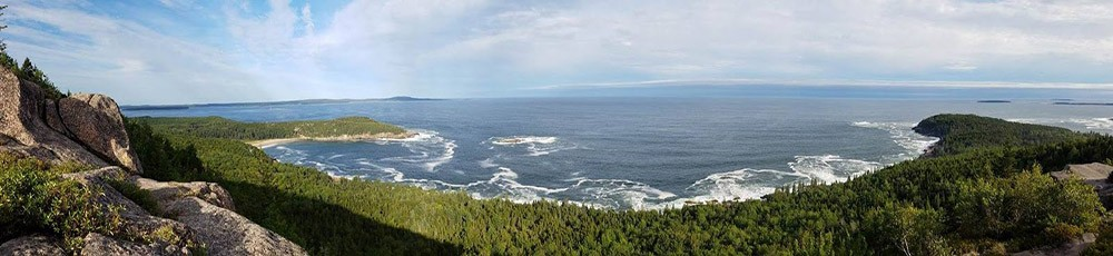 Places to visit when RVing in Maine: Acadia