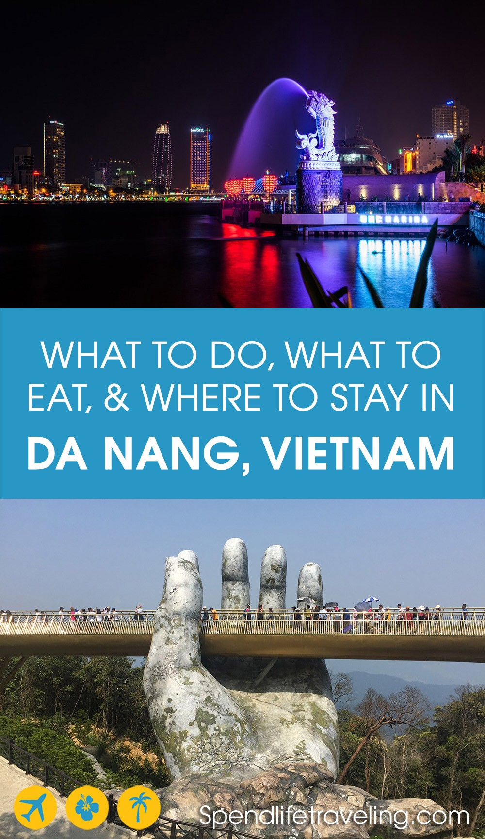 A practical travel guide for Da Nang for the perfect short visit. #DaNang #travelVietnam #visitVietnam