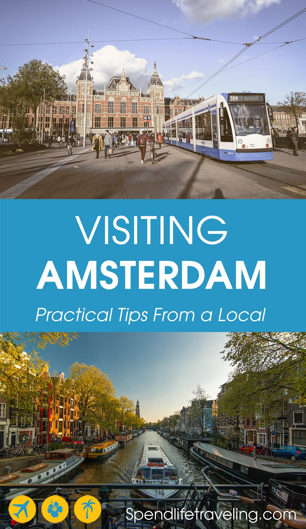 Looking for other Amsterdam tips besides the obvious Red Light District, Van Gogh Museum, etc? Then check out these local tips for things to do in #Amsterdam! #citybreak #traveltips #Holland