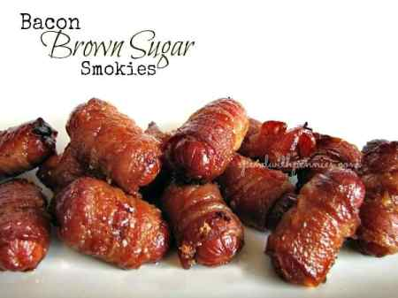Bacon Brown Sugar Smokies | Spend with Pennies