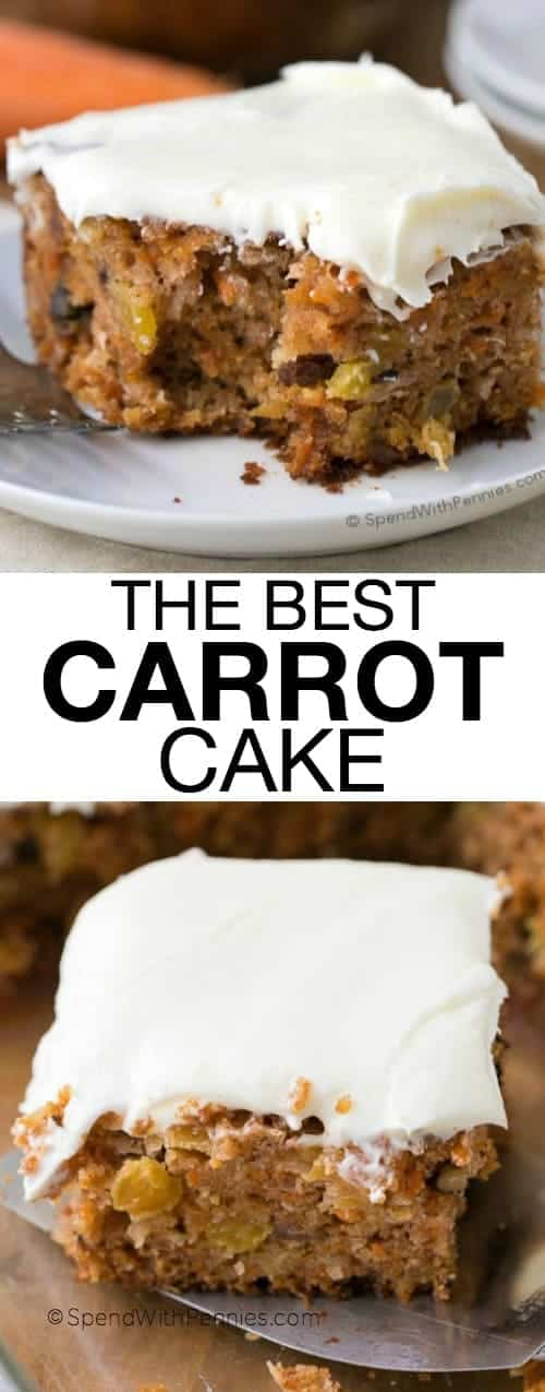 The Best Carrot Cake Spend With Pennies