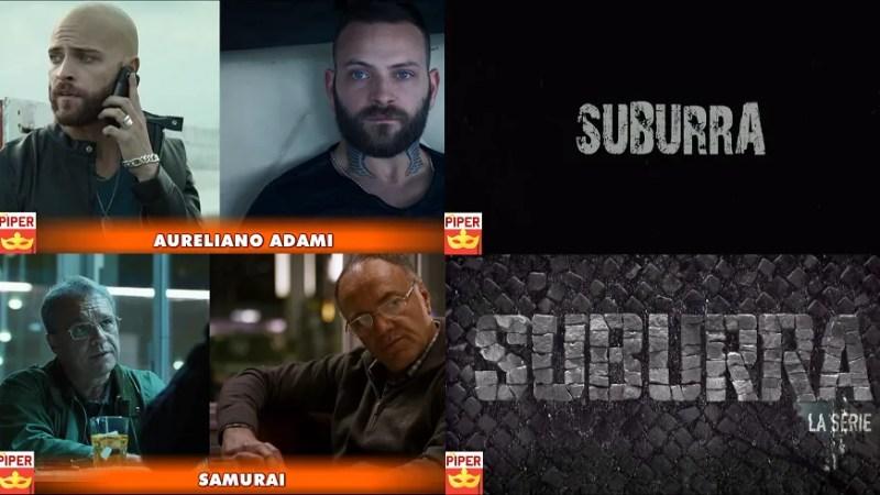 Suburra la Serie | Suburra il film: Personaggi a confronto