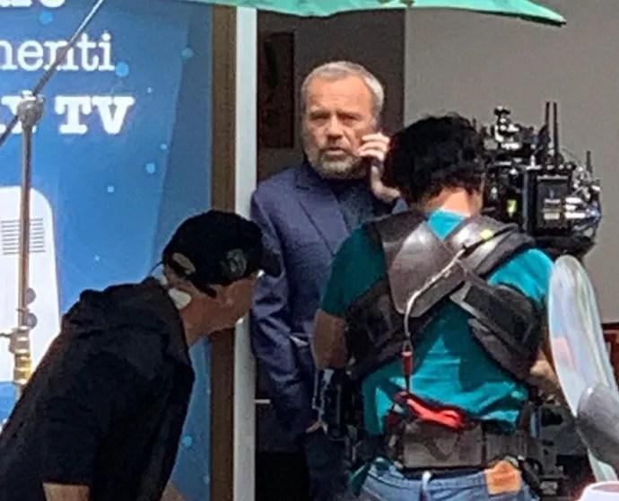 Nero a Metà 2, le prime foto dal set con Claudio Amendola e Miguel Gobbo Diaz