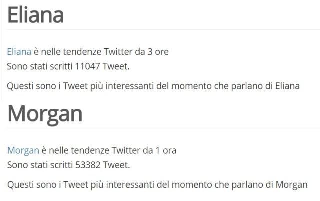 auditel 19 giugno 2019 live non e la d urso twitter trends italia