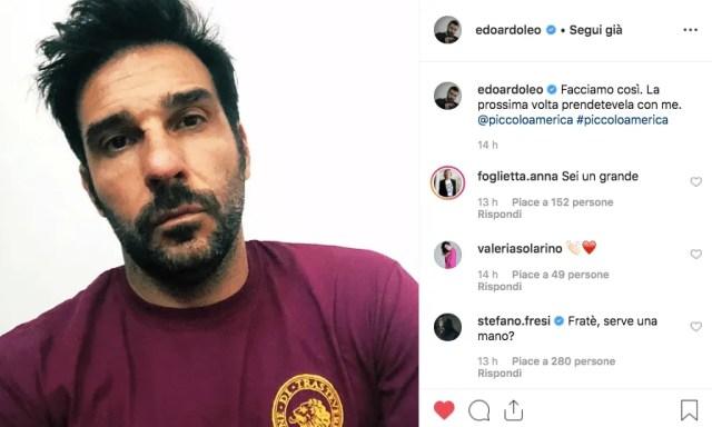 cinema america edoardo leo instagram