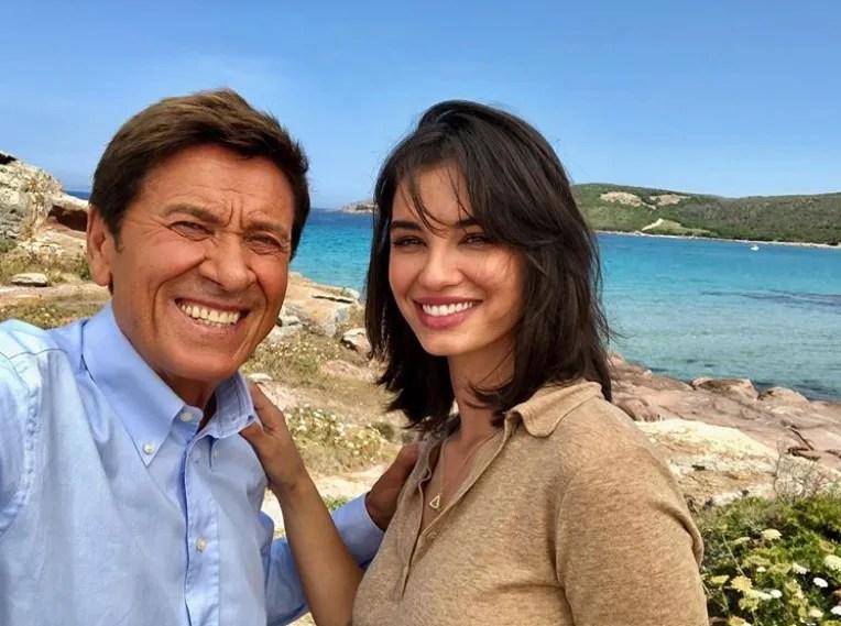 L'Isola di Pietro 3 Francesca Chillemi entra nel cast, le foto dalle riprese con Gianni Morandi