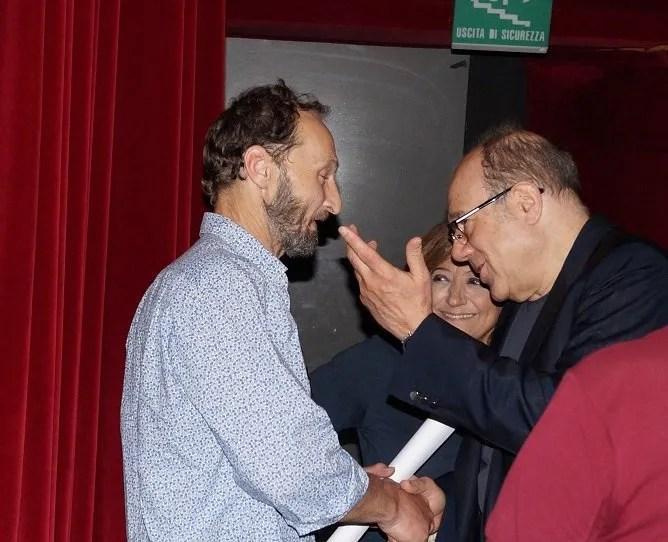 """Ricordando Paolo Villaggio, FOTO INEDITE dall'anniversario """"Il secondo tragico Fantozzi"""""""