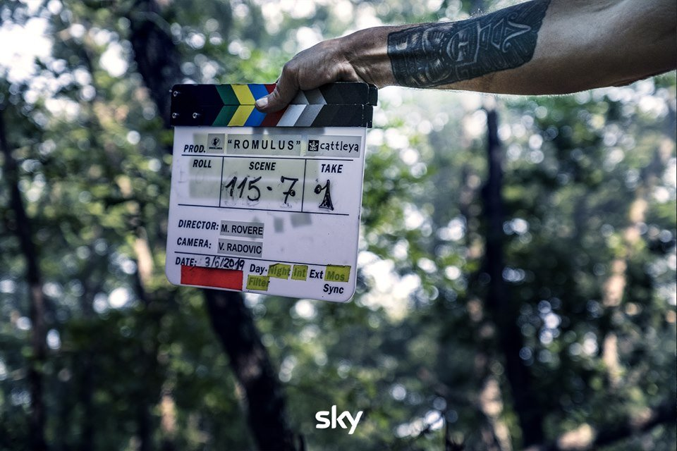 Romulus serie Sky: Andrea Arcangeli, Gabriel Montesi e il ca