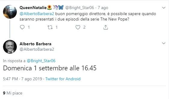 venezia 76 anticipazioni date the new pope