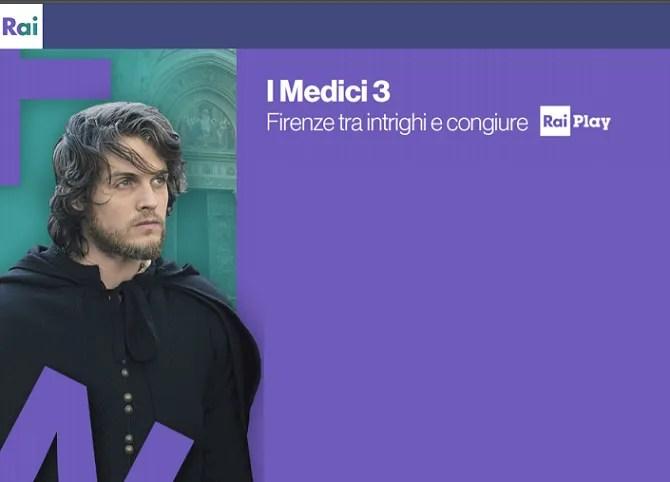 I Medici 3 anticipazioni, il listino Rai, tra le new entry internazionali Toby Regbo, Gaia Weiss, Johnny Harris e Jack Roth