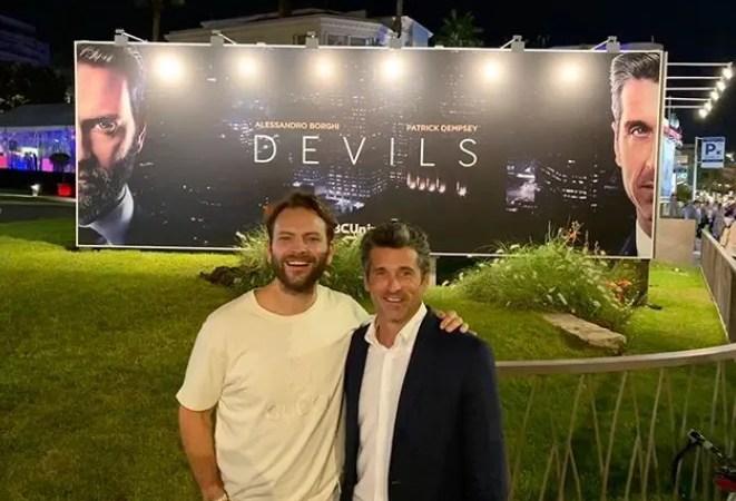Devils Alessandro Borghi e Patrick Dempsey insieme a Cannes Series (Mipcom 2019)