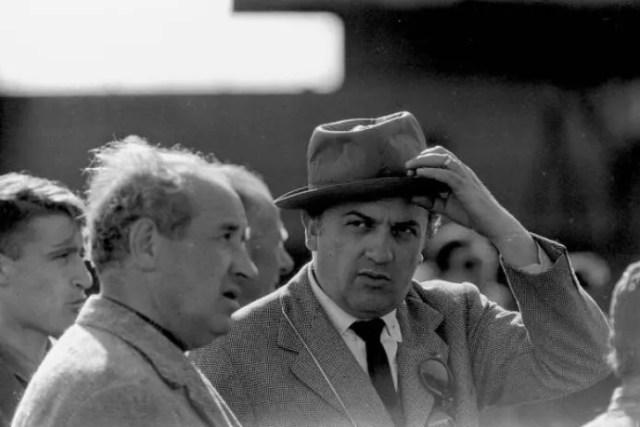 Federico Fellini 100 anni, una raccolta di foto del regista