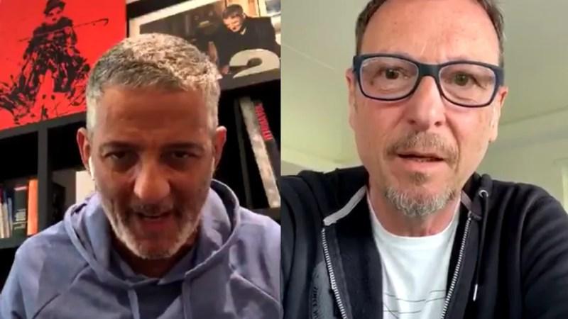 Fiorello diretta Instagram con Amadeus «Faccio Sanremo 2021 e chiudo la carriera» VIDEO