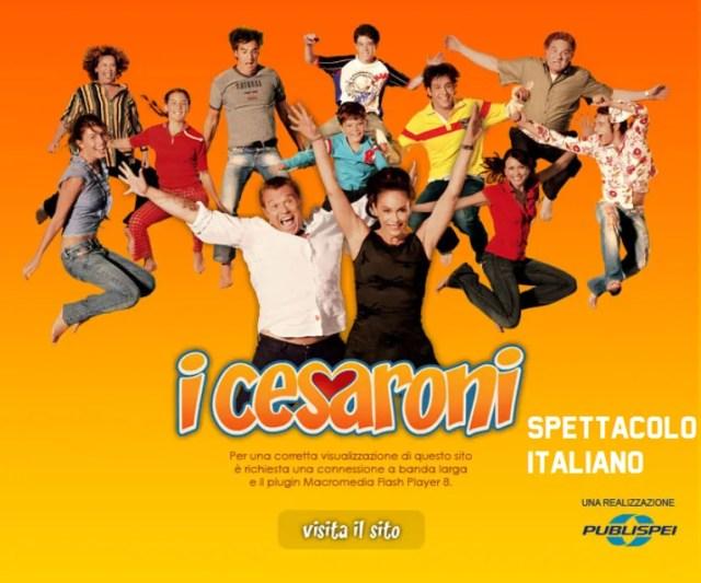i cesaroni sito homepage 2006