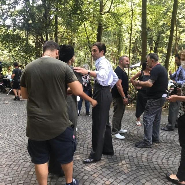 il commissario ricciardi riprese lino guanciale bosco capo di monte ph instagram pieramarialuigia