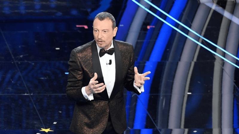 """Amadeus """"Sanremo 2021 non si farà senza pubblico"""""""