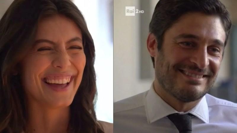 """L'Allieva 3, Lino Guanciale e Alessandra Mastronardi a Primo Set """"Il cuore di Alice è sempre di CC"""" VIDEO"""