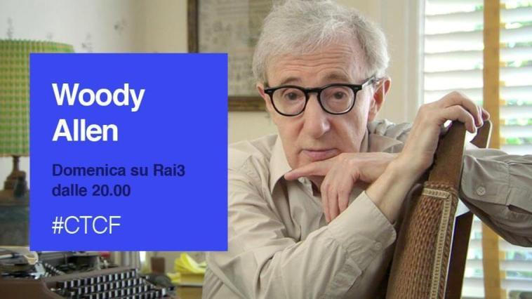 Woody Allen ospite a Che Tempo che Fa
