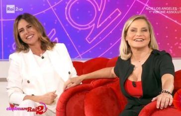 Citofonare Rai2, Paola Perego e Simona Ventura partono con il 4% di share
