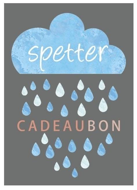 Cadeaubon Spetter
