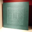 Large Celtic knotwork carved slate plaque