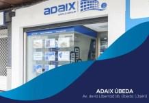Nueva agencia inmobiliaria Adaix en el municipio de Úbeda (Jaén)