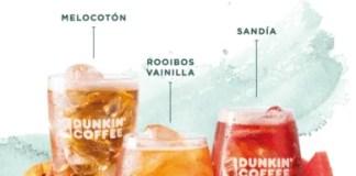 Dunkin' Coffee Lanza nueva gama de Tés Frios con tres variedades