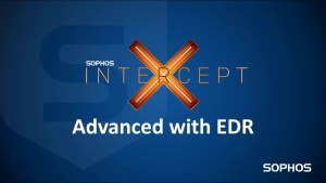 Sophos Intercept X Advanced With EDR
