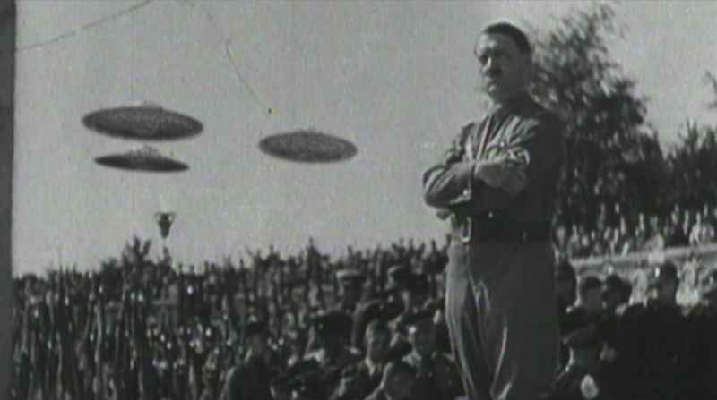 95 Hitler With UFOs