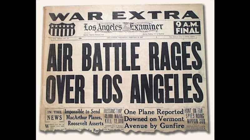 13 Newspaper Headline Battle Of LA
