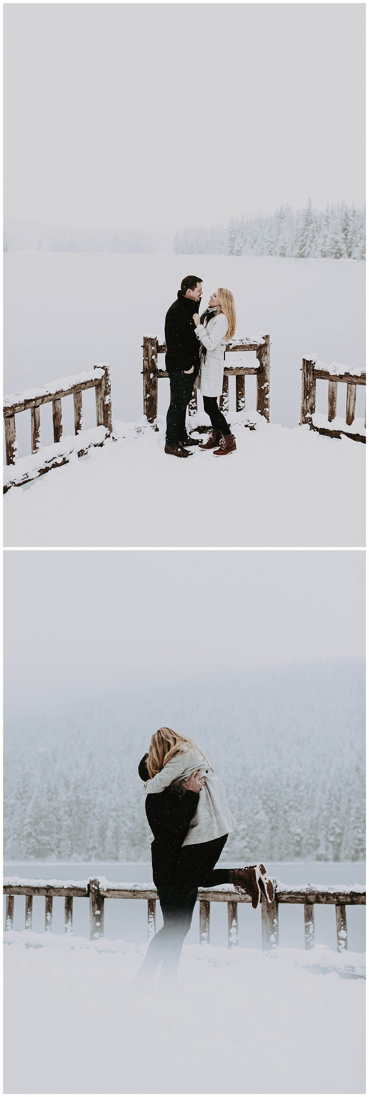 Mt Hood and Trillium Lake Engagement Session | S Photography | Pacific Northwest Adventure Photographer